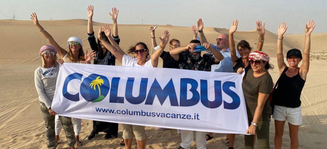 Columbus investe su Expo Dubai e porta in fam trip le adv