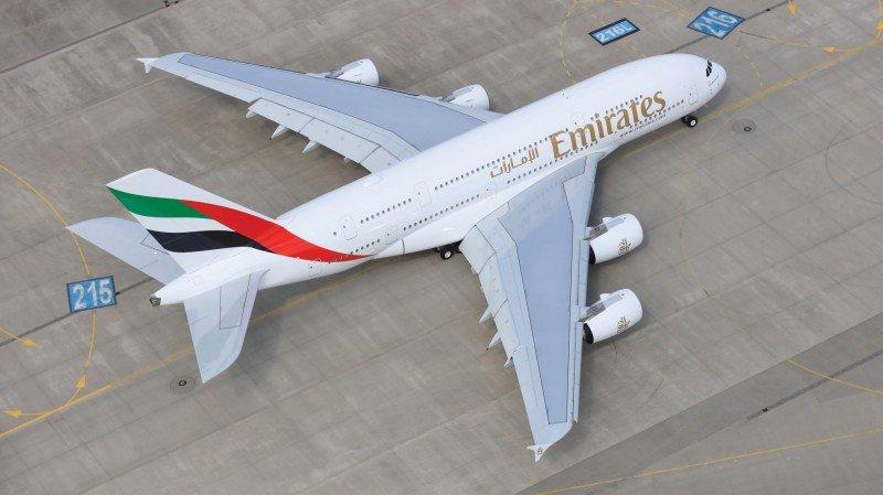 Emirates completa la flotta degli A380