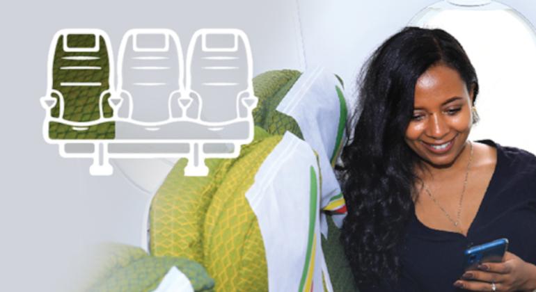Ethiopian: opzioni digitali per i viaggiatori in economy