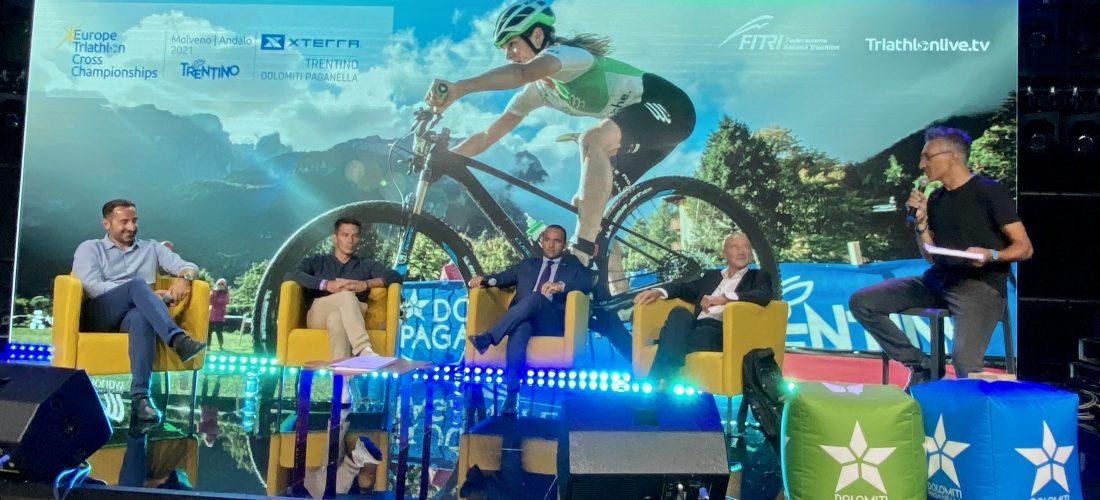 Paganella, il territorio si promuove con i campionati europei di cross triathlon
