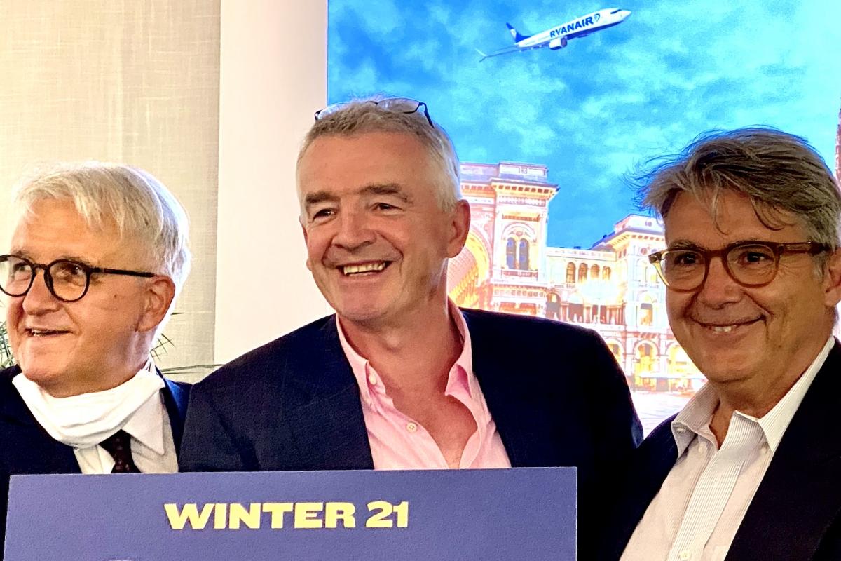 Winter Ryanair, nove nuove rotte tra Orio e Malpensa e 800 posti di lavoro