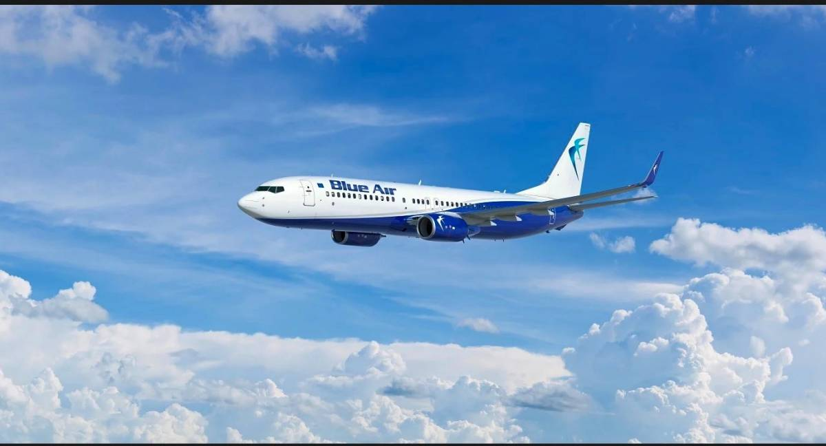 Blue Air: cresce il network da Linate, destinazione Europa