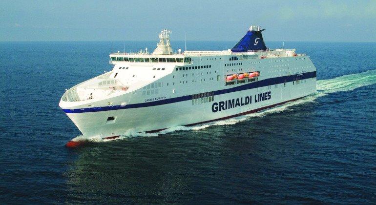 Al Gruppo Grimaldi la linea Civitavecchia-Arbatax-Cagliari