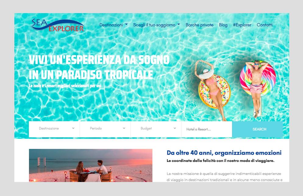Sea Explorer, nuovo portale e focus sulle experience