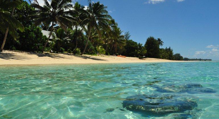 Le Isole Cook attendono gli italiani