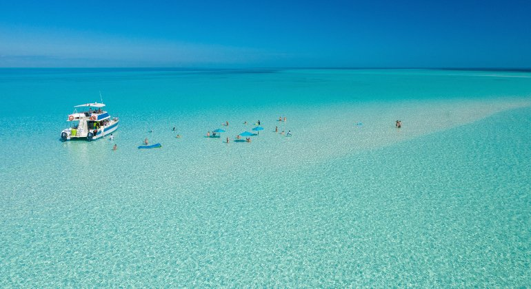 Riapre l'isola di Ocean Cay