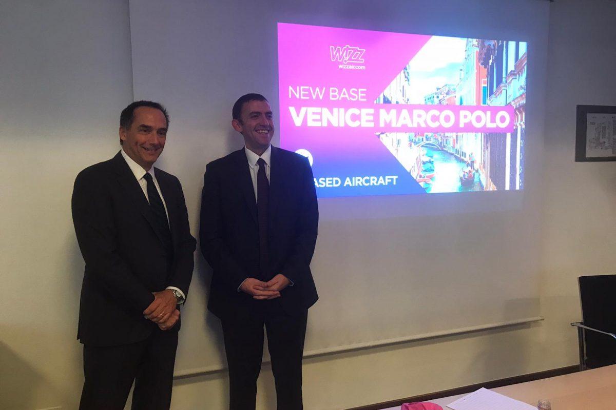 Wizz Air, a Venezia la settima base italiana