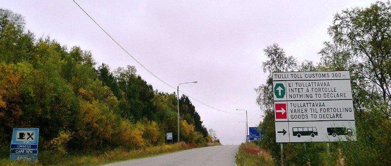 Ritorna il confine aperto tra Norvegia e Finlandia